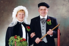 Boere 2001 Marian en Geert Kusters