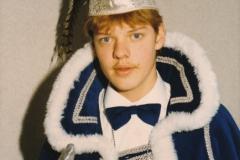 Jeugdprins 1986 Ron Verrijdt