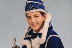 Jeugdprins 1993 Marco Lenssen