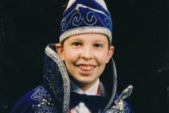 Jeugdprins 1995 Sjoerd van der Coelen
