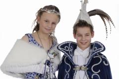 Jeugdprinsestel 2014 Freek Weijs en Romy Klabbers