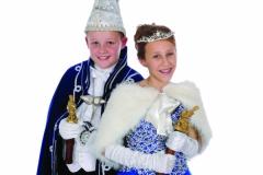 Jeugdprinsestel 2016 Lars Krebbers en Lieke Klabbers