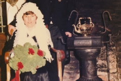 Boere 1984 Pierre en Helma Koppes op het Veldt