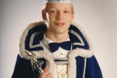 Jeugdprins 1990 Rene van Rooij