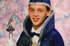 Jeugdprins 1994 Ruud Mooren