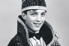 Jeugdprins 1996 Clemens Wijers