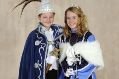 Jeugdprinsestel 2013 Jeugdprins Joep II en Jeugdprinses Femmie I