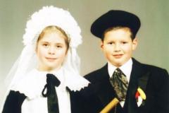 Jeugdboere 2003 Esmee Smals en Jesse Sijberts